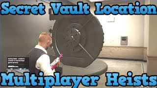 "GTA 5 Online: Secret Bank Vault Tutorial (""How To Get Inside The Bank"") (GTA V Multiplayer)"