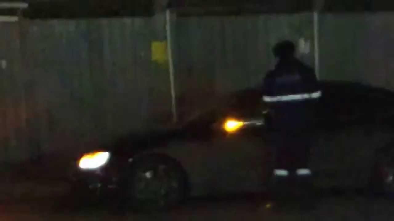 Poliția l-a oprit noaptea, fără noimă, pe str. Tricolorului