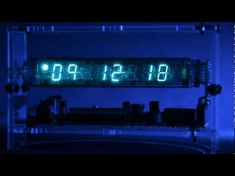 Adafruit's Ice-Tube Clock - Time Lapse [Full HD]