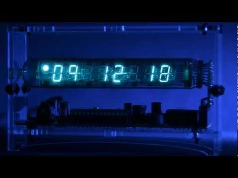 Adafruit's Ice-Tube Clock - Time Lapse [Full HD]