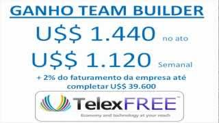 TelexFree Team Builder Investidor Www.telexfree.com