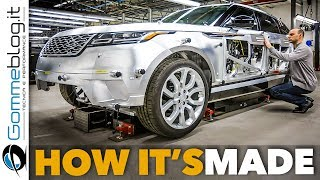 Range Rover VELAR Car FACTORY Production | HOW IT'S MADE and How To Build a Luxury SUV Manufacturing