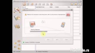 Kako vratiti podatke u Alcatel OT 800