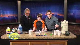 Freezing Liquid Cool Science Fair Project
