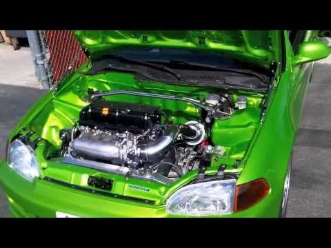 K20 Civic Build Part 2 of 3