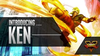 Street Fighter V - Character Introduction Series - Ken