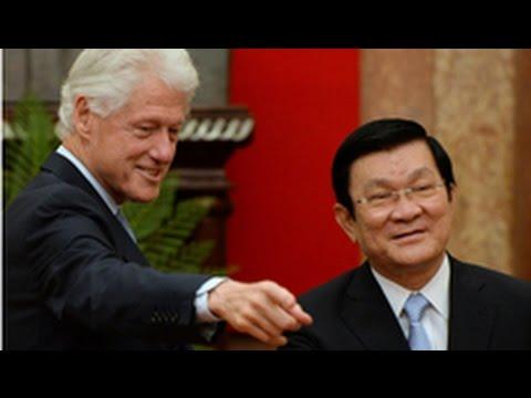 Ông Trương Tấn Sang muốn Mỹ bỏ cấm vận võ khí