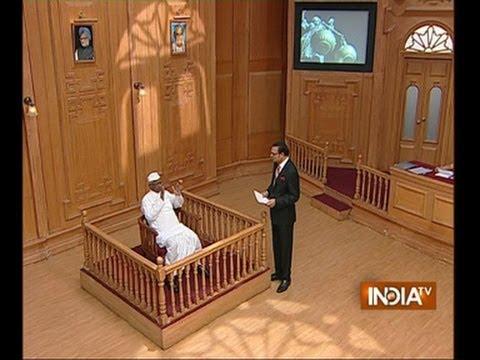 Anna Hazare praises Mamata Banerjee in Aap Ki Adalat