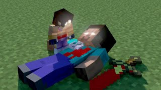 Herobrine Son's Life - Minecraft Animation