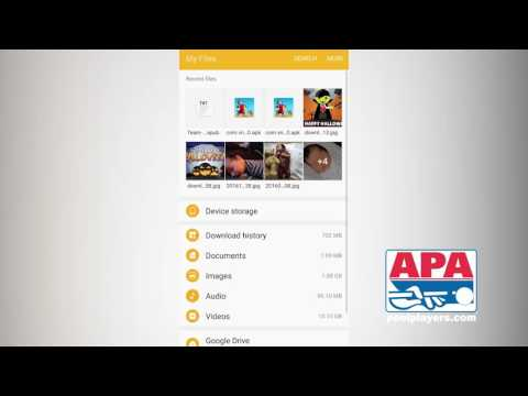 Download APA Rules Materials to Android Device