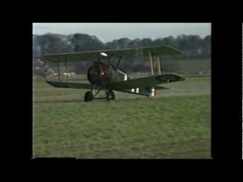 A Celebration of Sopwith and Hawker aircraft in the air (Running time 8 minutes)