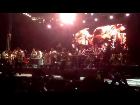 Ángeles azules con sinfónica en Tlaxcala 2014