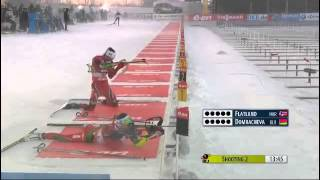 Epic shooting - Biathlon World Cup - Östersund 2013