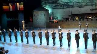 USAF Honor Guard Drill Team Norwegian Military Tattoo