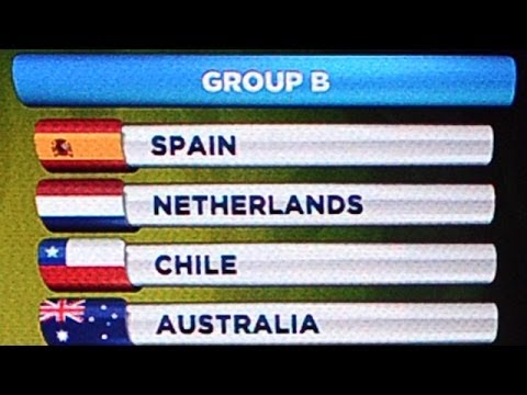 World Cup 2014 draw: Holland supporters left with mixed feelings
