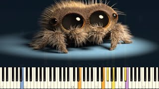 Lucas The Spider - Musical Spider - IMPOSSIBLE REMIX - Piano Cover