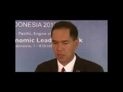 Gita Wirjawan, Minister of Trade, Indonesia