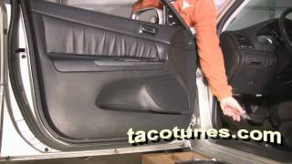 Toyota Camry How To Remove Door Panel To Install Speaker