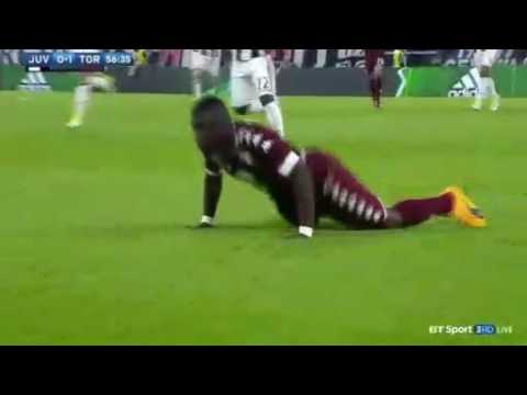 VIDEO: Afriyie Acquah sees red as Torino hold Juventus to 1-1 draw