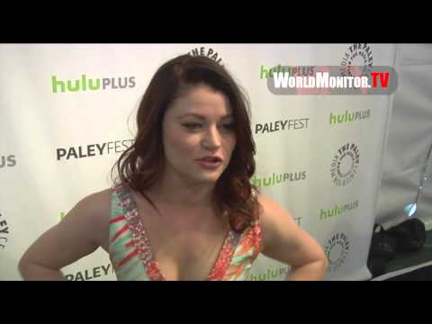 Emilie de Ravin 'Belle' arrives at Once Upon A Time Panel - PaleyFest 2013