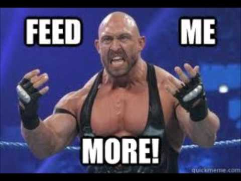 wwe ryback theme song 2012 quotfeed me morequot youtube