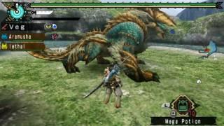 Monster Hunter Portable 3rd Zinogre/Jinouga (Long Sword