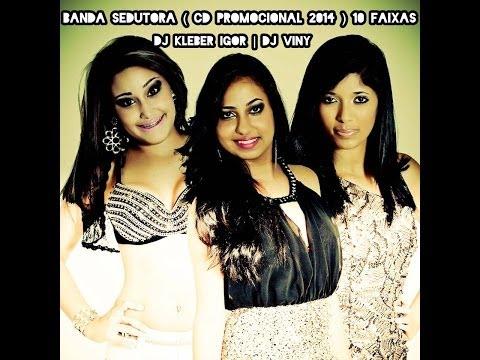 BANDA SEDUTORA - CD PROMOCIONAL DE 2014 - COM 10 FAIXAS
