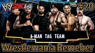 WWE 2K14 Wrestlemania Remember: The Shield Vs Big Show