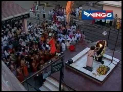 Shree Shani's History in Shinganapur -Aarti - Mandir Darshan