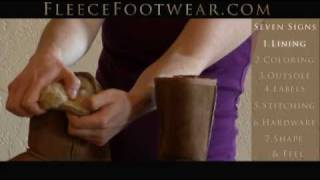 How To Spot Fake Uggs Focusing On The Lining