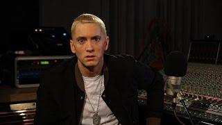 Eminem Talks Ideas, Putting Together The Marshall Mathers LP 2, Being Nervous & More