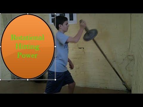 Baseball Hitting Workouts: Build Rotational Power to Hit More Home Runs