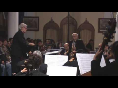 Movimiento Concertante para saxofón alto y cuerdas de Juan Orrego-Salas