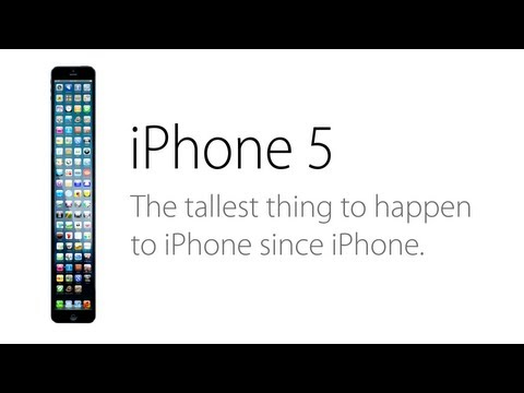 The iPhone 5 (Parody) Ad: A Taller Change