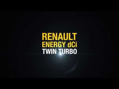 New Renault Energy dCi 160 Twin Turbo engine // Nouveau moteur