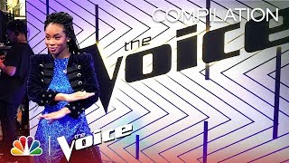 Kennedy Holmes' Journey on The Voice - The Voice 2018 (Compilation)