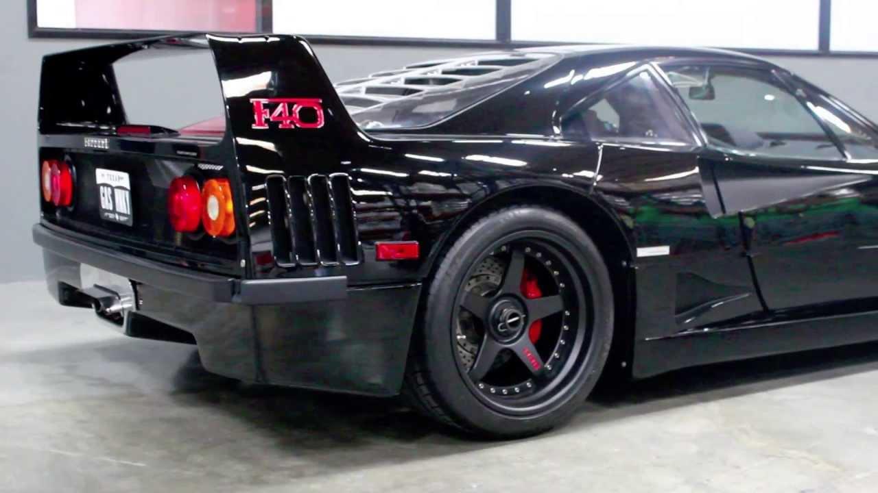 Ferrari F40 Gas Monkey Garages