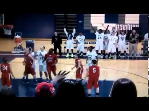 Teen with Down's Syndrome makes four three pointers
