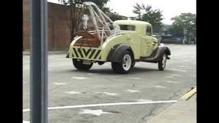 1935 Ford Tow Truck We Go For A Ride!