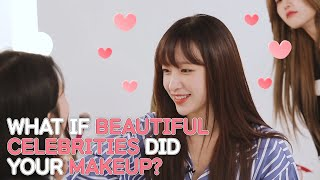 What if EXID did your makeup? ENG SUB • dingo kdrama