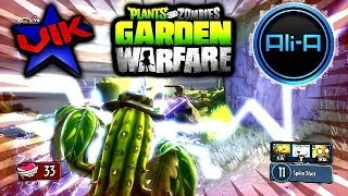 Plants VS Zombies Garden Warfare GARDEN OPS #2 with Vikkstar & AliA (Xbox One)