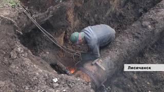Продолжается замена водовода на 41-й микрорайон