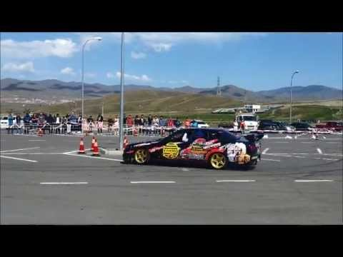 Drift Auto show in Mongolia 2013 09 01