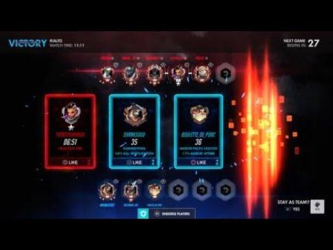 Overwatch: Sombra stuck under payload Rialto glitch (+Hanzo Potg)