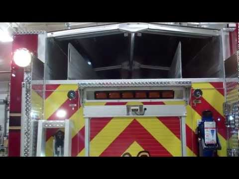 Sunbelt Fire and the Cullman Fire/Rescue new E-ONE Custom Pumper-Part 1