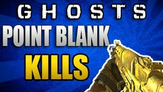 "Call Of Duty: Ghosts ""How To Get Point Blank Kills Fast"