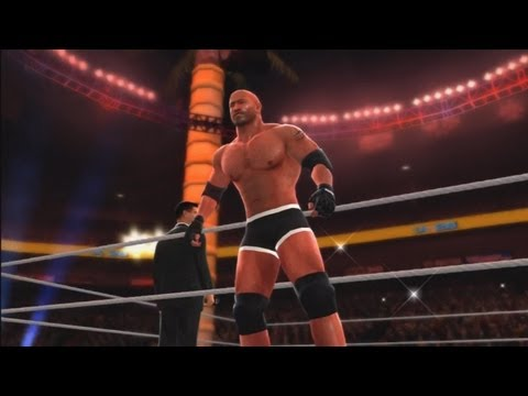 WWE '13: Goldberg vs Brock Lesnar - (Special Referee) Stone Cold Steve Austin
