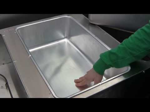 Spillage Pans & Steam Tables - How do spillage pans work?