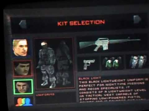 ALEXZELLER plays: Tom Clancy`s RAINBOW SIX (1) (Medium) Mission 5 Single man PS1