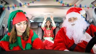 Christmas Carpool Ride!